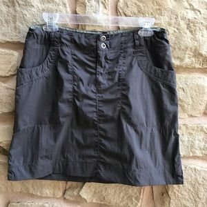 REI Hiking Skirt Nylon Spandex A Line Pockets